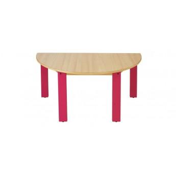 table demi lune wikicat mobilier jarozo. Black Bedroom Furniture Sets. Home Design Ideas