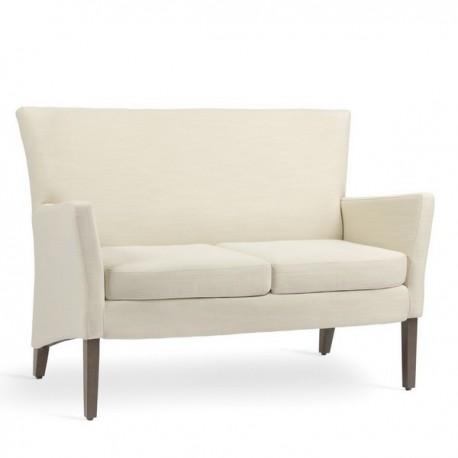 Fauteuil fauteuil haut avec coussin et canap manhattan for Canape avec fauteuil