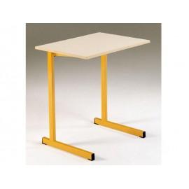 LOT de 2 Tables monoplaces GANGE