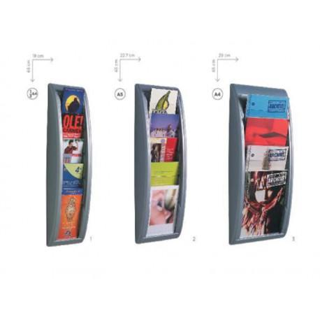 Pr sentoir mural paperflow - Presentoir photos mural ...