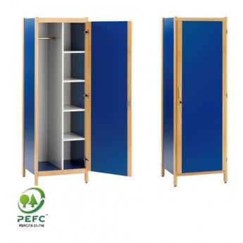 armoire 1 porte 1 2 penderie et 1 2 lingerie de la gamme dreux. Black Bedroom Furniture Sets. Home Design Ideas
