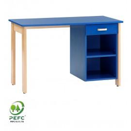 Bureau avec niches et tiroir de la gamme DREUX