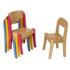 Chaise empilable de la gamme WIKI