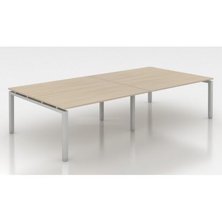 bureau droit pieds partag s type 4 eco. Black Bedroom Furniture Sets. Home Design Ideas
