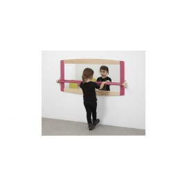 Miroir mural Wikicat