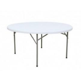 Table polyethylene ronde gamme Eco
