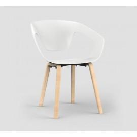 Lot de 4 fauteuils Liner