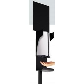 Station de désinfection des mains automatique