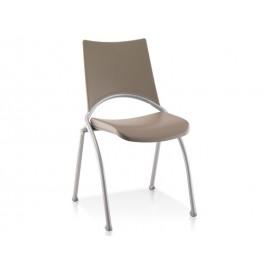 Chaise visiteurs assise et dossier polypropylene Wap