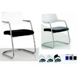 Chaise visiteurs Link Perfo