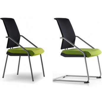 chaise visiteurs r sille tela. Black Bedroom Furniture Sets. Home Design Ideas