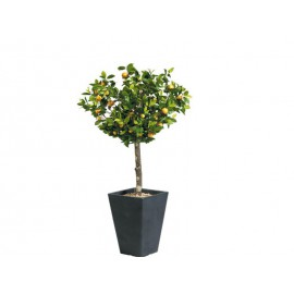Plante verte artificielle mandarinier