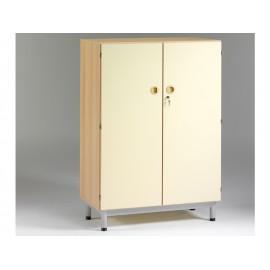 Armoire 2 portes sur socle