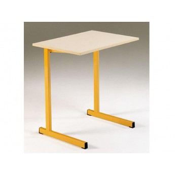 LOT de 2 Tables monoplaces GANGE