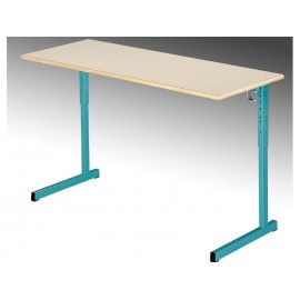 LOT de 2 Tables biplaces reglables NIGER