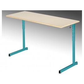 LOT de 2 Tables biplaces reglables NIGER