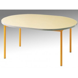 Table ovale 120 x 90 LUTIN