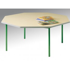 Table octogonale Diametre 120 LUTIN