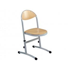 Chaise maternelle appui sur table et reglable en hauteur HELIA