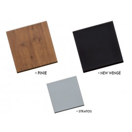 Table avec plateau werzalit
