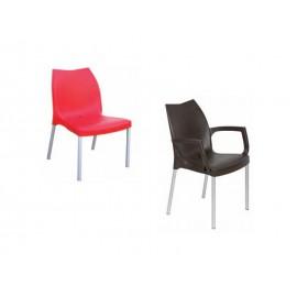 Chaise et fauteuil polypropylene