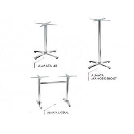 Table exterieure avec plateau Werzalit