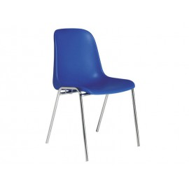 Chaise coque polypropylene