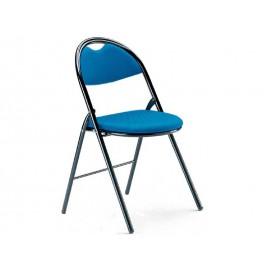 Chaise pliante revêtement tissu enduit